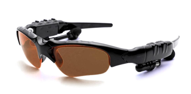 Stereo Headset Sunglasses Bluetooth: 4.1 - Brown