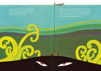 Te-Ika-a-Maui/The Fish of Maui by Peter Gossage