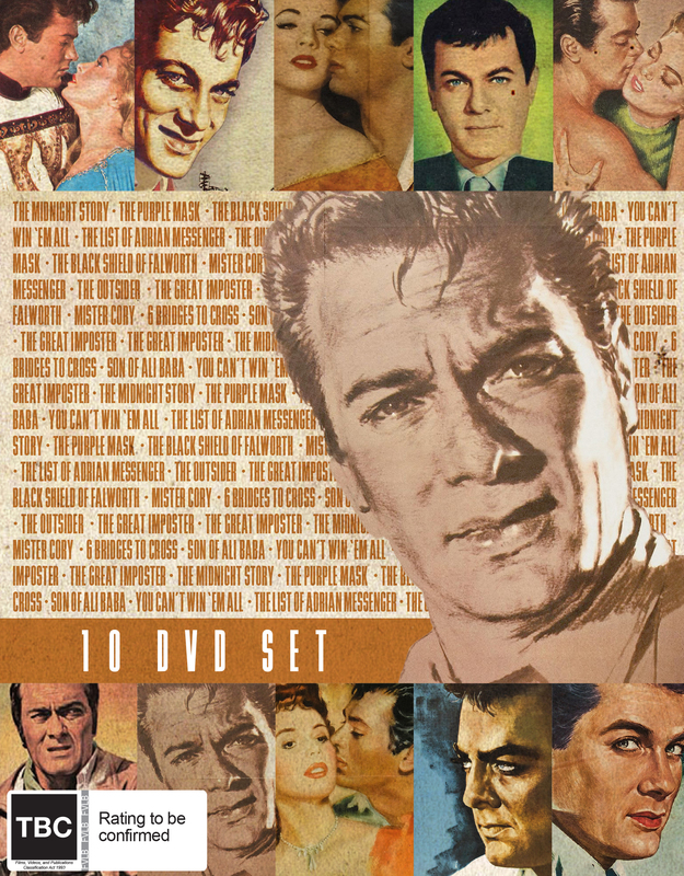 Tony Curtis Collection on DVD