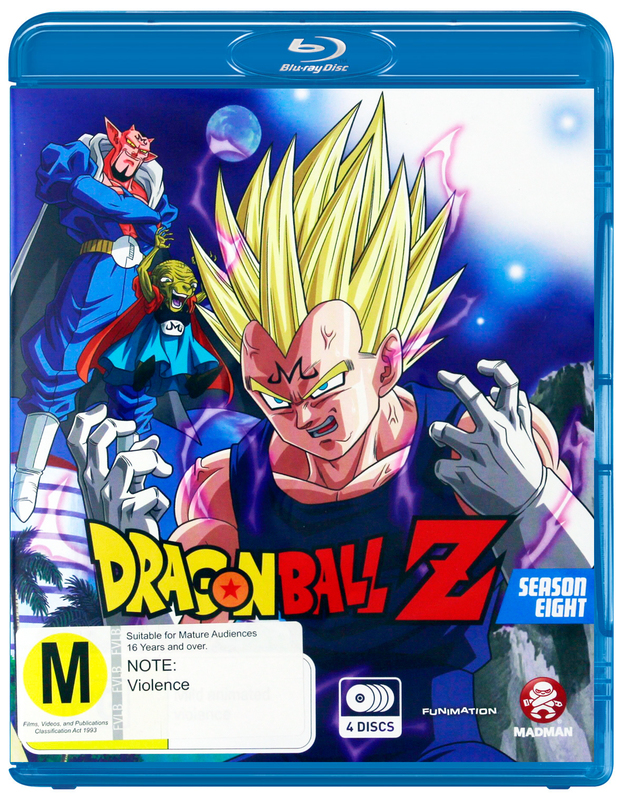 Dragon Ball Z - Season 8 on Blu-ray