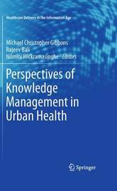 Perspectives of Knowledge Management in Urban Health image