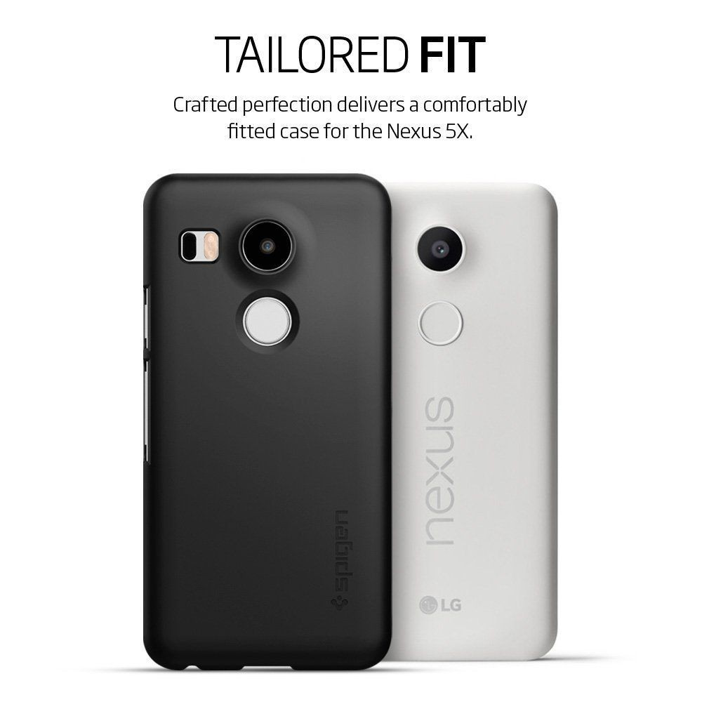 Spigen nexus 5x thin fit case black at mighty ape for Spigen nexus 5 template