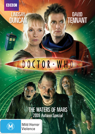 Doctor Who - The Waters of Mars (2009 Special) on DVD image
