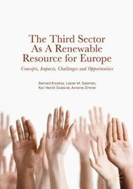 The Third Sector As A Renewable Resource for Europe by Bernard Enjolras