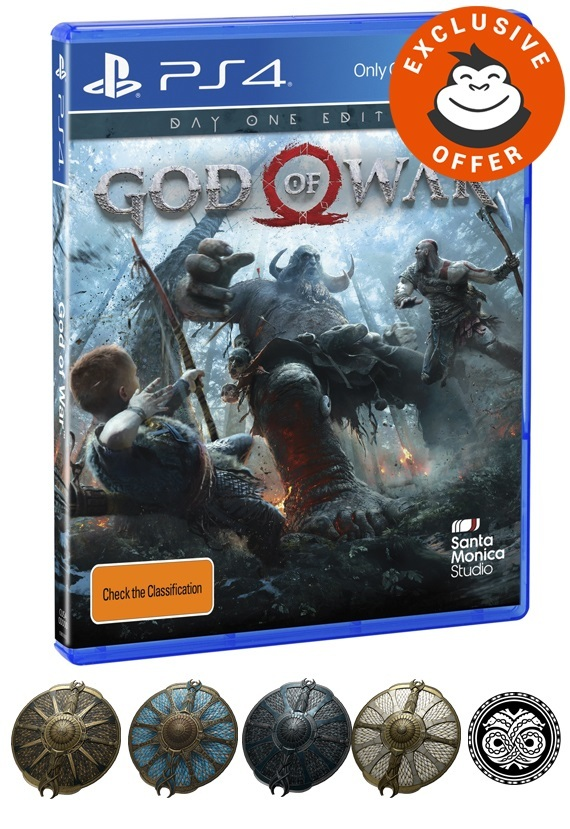 God of War Day One Edition for PS4 image
