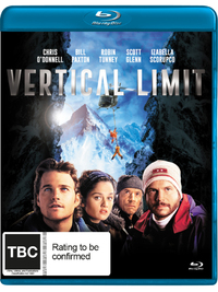 Vertical Limit on Blu-ray