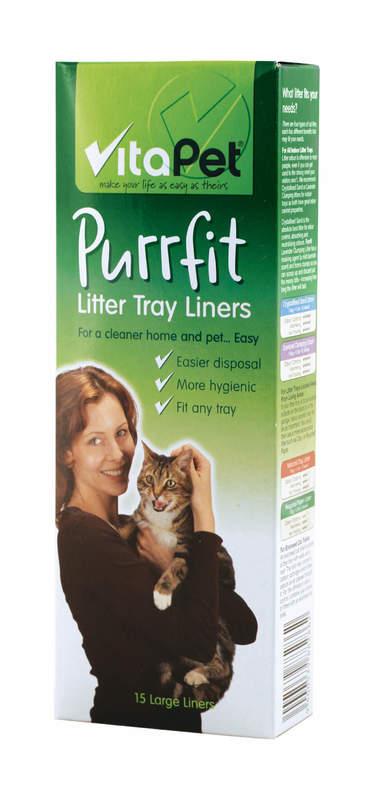 Vitapet: Litter Tray Liners (15 Pack)