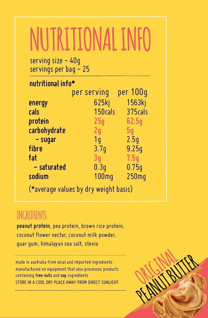 Macro Mike Protein+ - Original (1kg) image