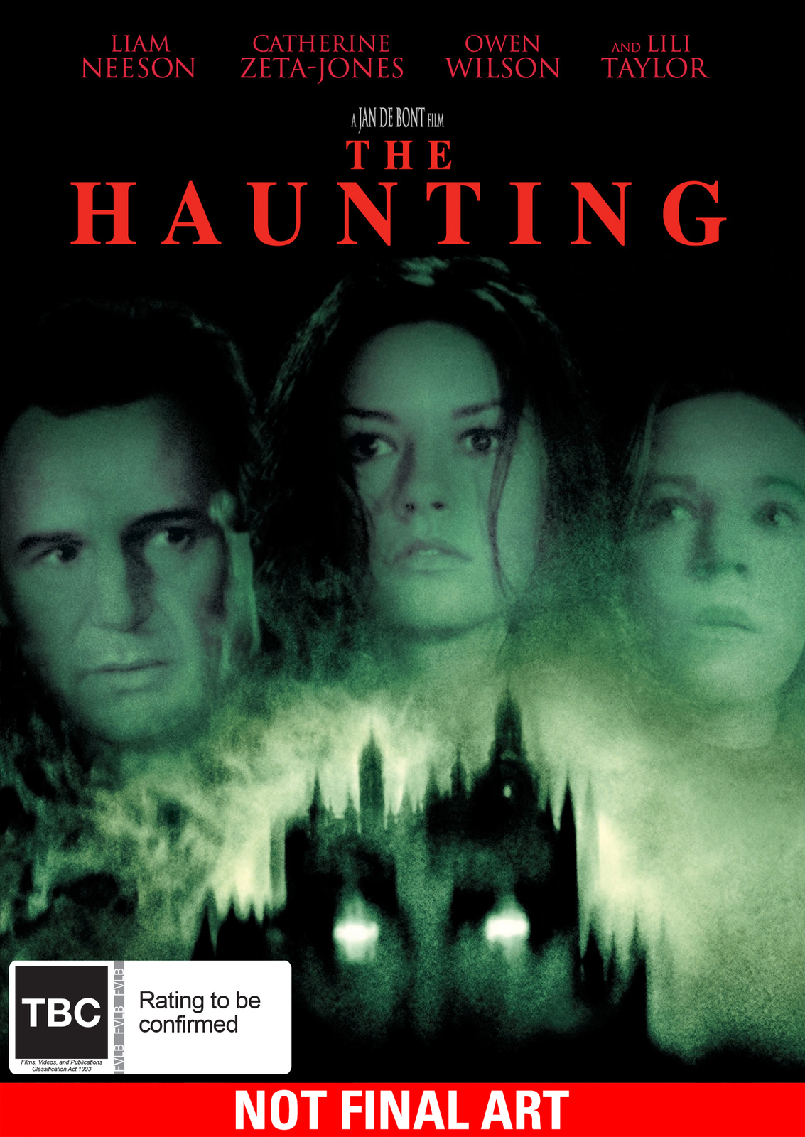 The Haunting on DVD image