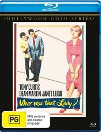 Who Was That Lady? on Blu-ray