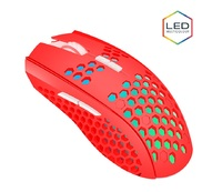 Gorilla Gaming HEX RGB Mouse (Red) for PC