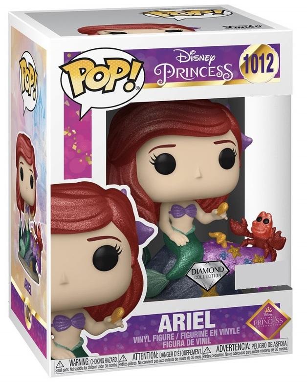 Disney: Ariel (Ultimate Princess/Diamond Glitter) - Pop! Vinyl Figure