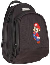 Mario Back Pack Case - Black for Nintendo DS image