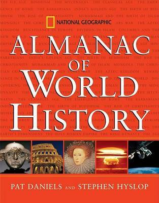 """National Geographic"" Almanac of World History by Pat Daniels image"