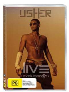 Usher - Live: Evolution 8701 on
