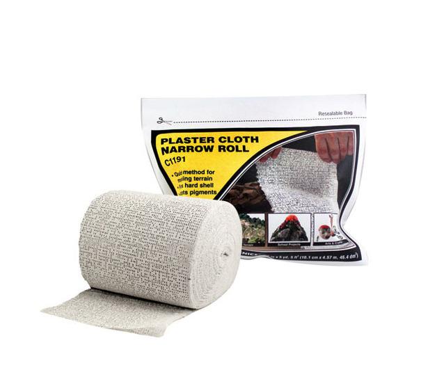Woodland Scenics Plaster Cloth - Narrow Roll
