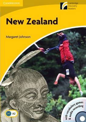 New Zealand Level 2 Elementary/Lower-intermediate American English Book with CD-ROM and Audio CD Pack: Level 2: Elementary/Lower-intermediate American English by Margaret Johnson image