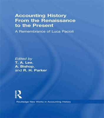 Accounting History from the Renaissance to the Present image