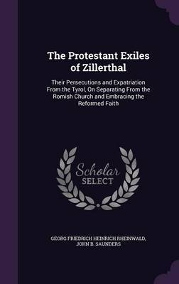 The Protestant Exiles of Zillerthal by Georg Friedrich Heinrich Rheinwald image