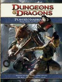 Player's Handbook 3: A 4th Edition D&D Core Rulebook by Mike Mearls image