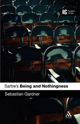 """Sartre's """"Being and Nothingness"""": A Reader's Guide by Sebastian Gardner image"""