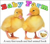 Baby Farm: Very First Book (Touch & Feel) by Roger Priddy image