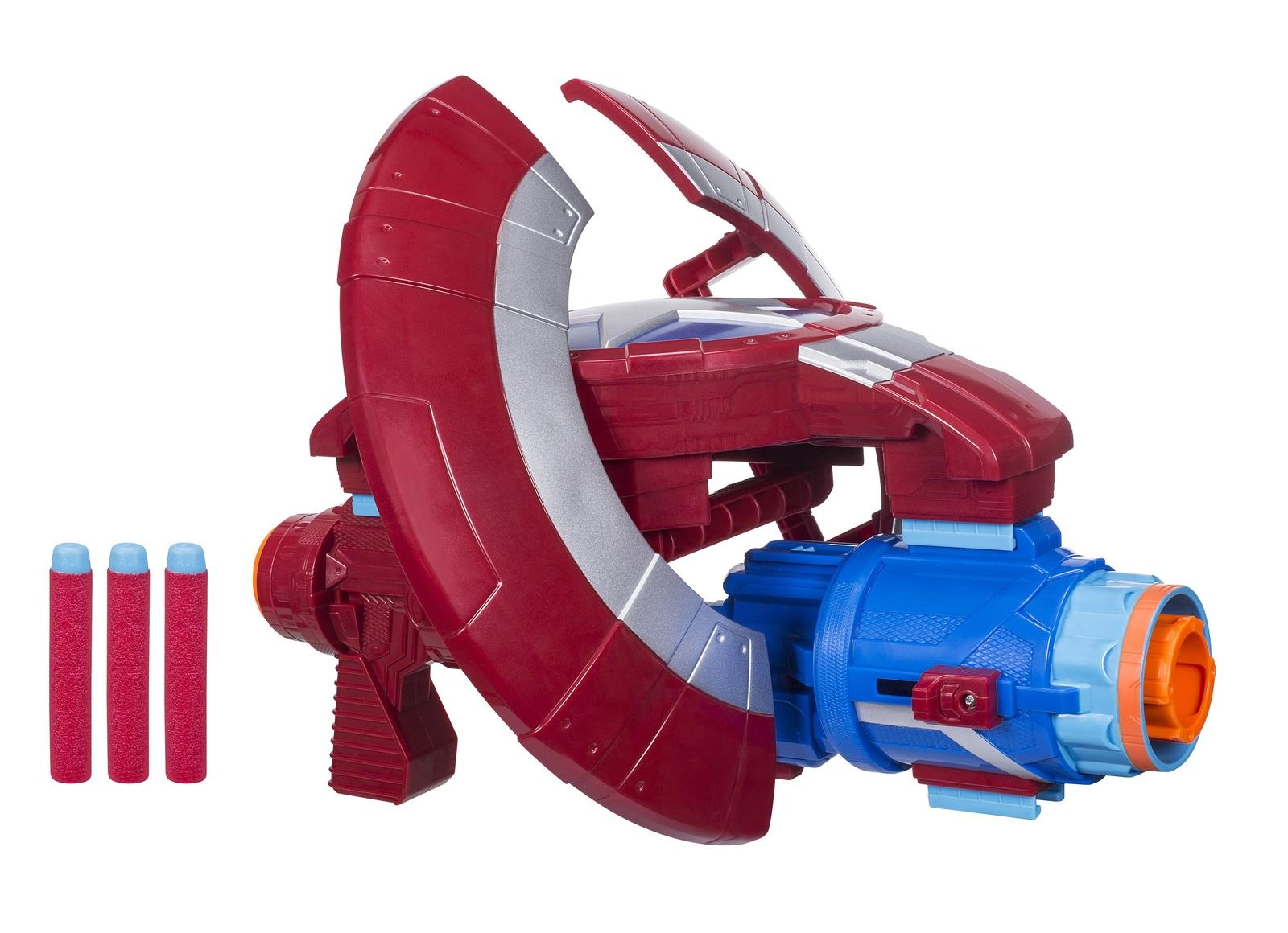 Nerf Avengers: Assembler Gear - Captain America Blaster image
