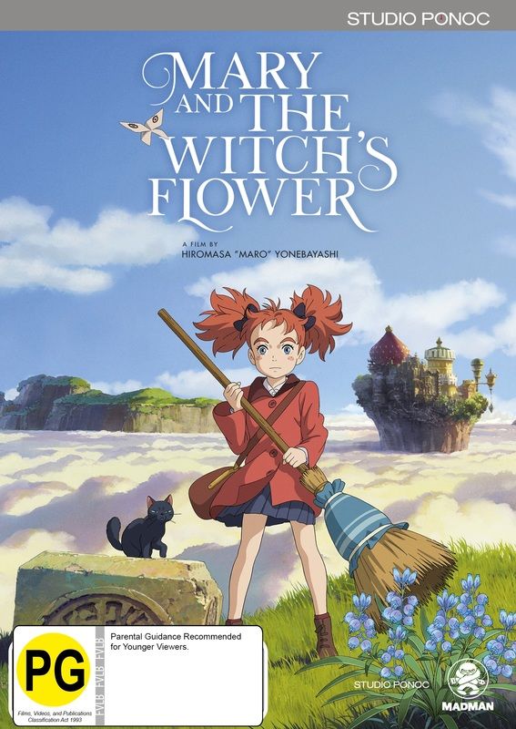 Mary And The Witch's Flower on DVD
