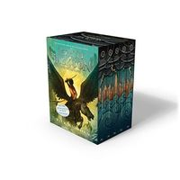 Percy Jackson Hardcover Boxed Set (5 Books) by Rick Riordan