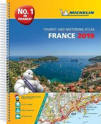 France 2019 -A4 Tourist & Motoring Atlas