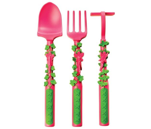 Constructive Eating: 3-Piece Cutlery Set - Garden Fairy