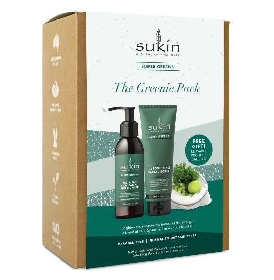 Sukin Natural: The Greenie Pack