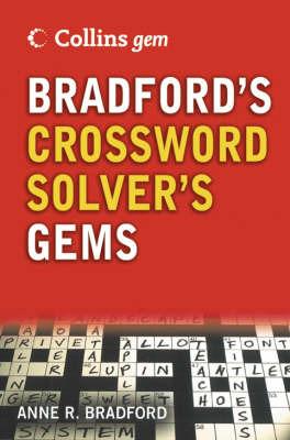 Bradford's Crossword Solver's Dictionary by Anne R Bradford image