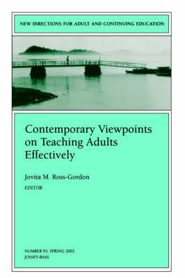 Contemporary Viewpoints on Teaching Adults Effectively