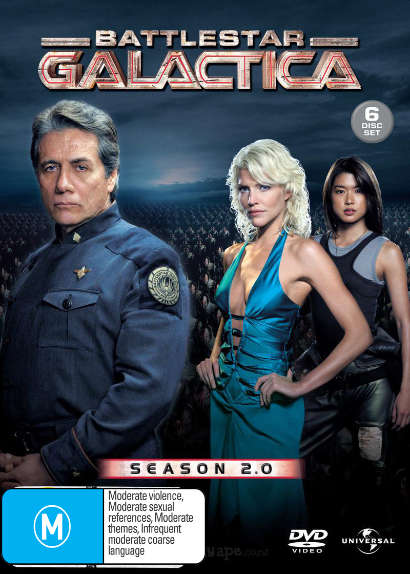 Battlestar Galactica - Season 2 on DVD image
