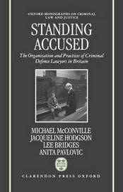 Standing Accused by Mike McConville