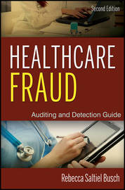 Healthcare Fraud by Rebecca S Busch image