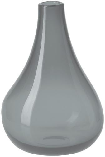 Krosno Sashay Bulb Vase - Smoke (22cm)