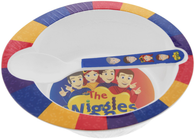 The Wiggles: Bowl and Spoon Set