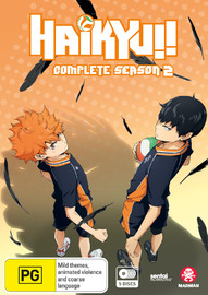 Haikyu!! - Complete Season 2 on DVD