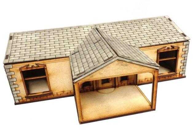 TTCombat: Tabletop Scenics - Suburban House C