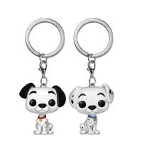 101 Dalmatians - Pongo & Perdita Pocket Pop! Keychain 2-pack