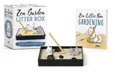 Zen Garden Litterbox by Sarah Royal