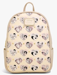 Loungefly: Disney Princess Couples Valentines Backpack image