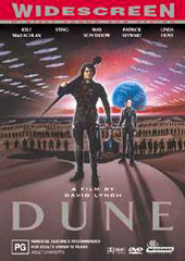 Dune (DTS Wide Screen) on DVD