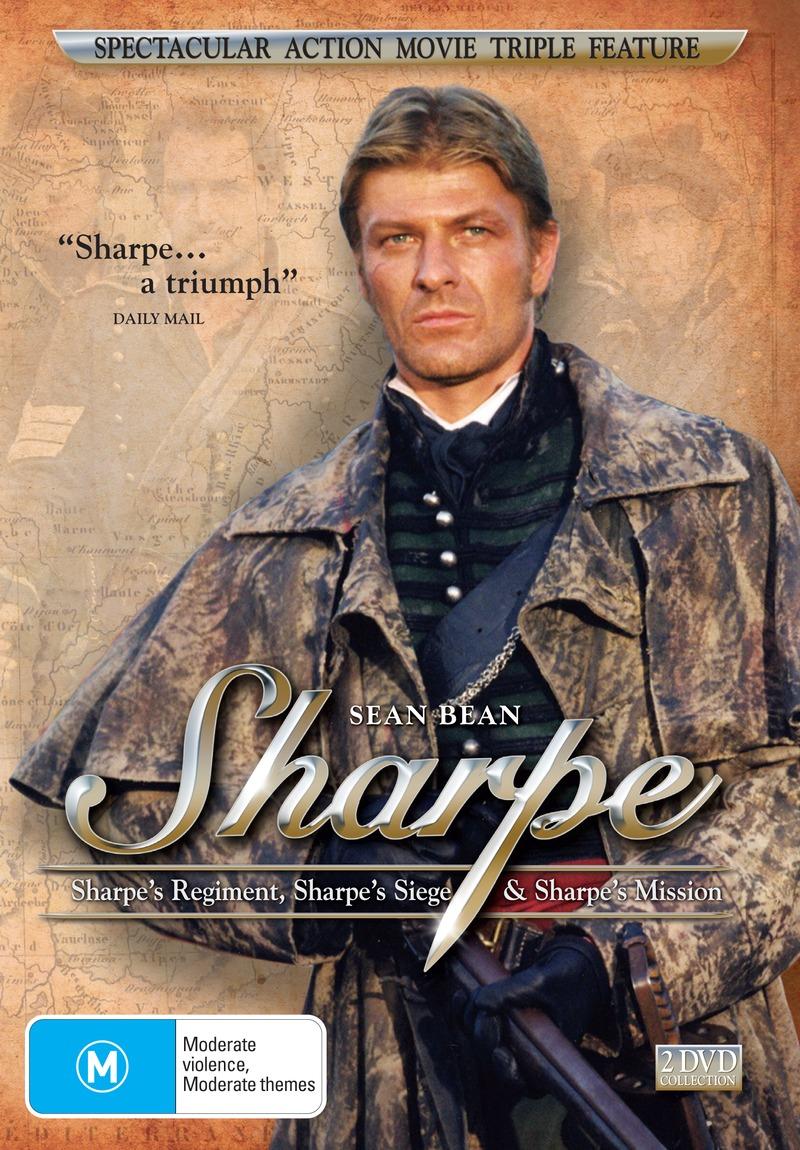 Sharpe's Regiment / Sharpe's Siege / Sharpe's Mission (2 Disc Set) on DVD image
