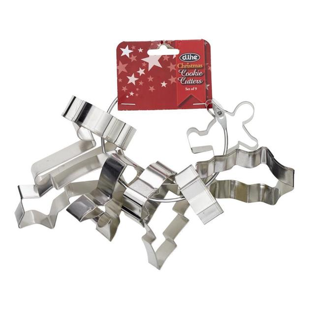 Christmas Cookie Cutter - Set of 9