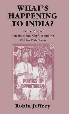What's Happening to India? by Robin Jeffrey image