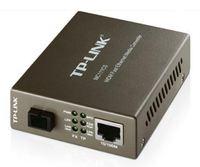 TP-Link 10/100M RJ45 to 100M Single-Mode SC Fiber Converter