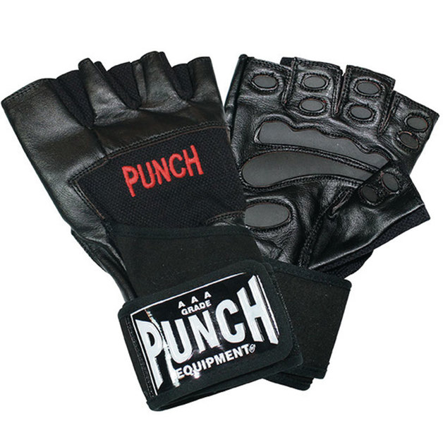 Punch: Weight Mitt with Wrap - Medium (Black)